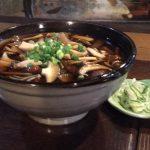 筑波山きのこ蕎麦(筑膳)